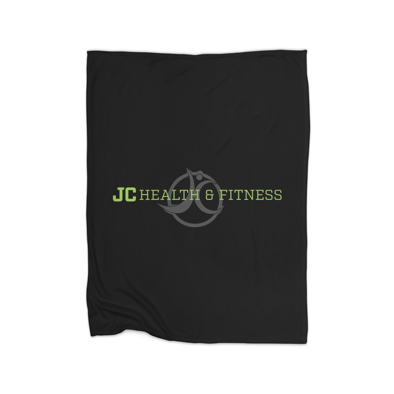JC logo Home Fleece Blanket Blanket by JC Heath and Fitness