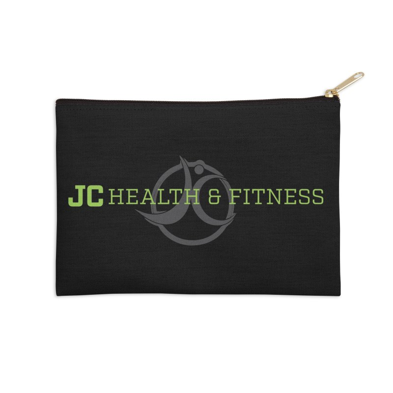 JC logo Accessories Zip Pouch by JC Heath and Fitness