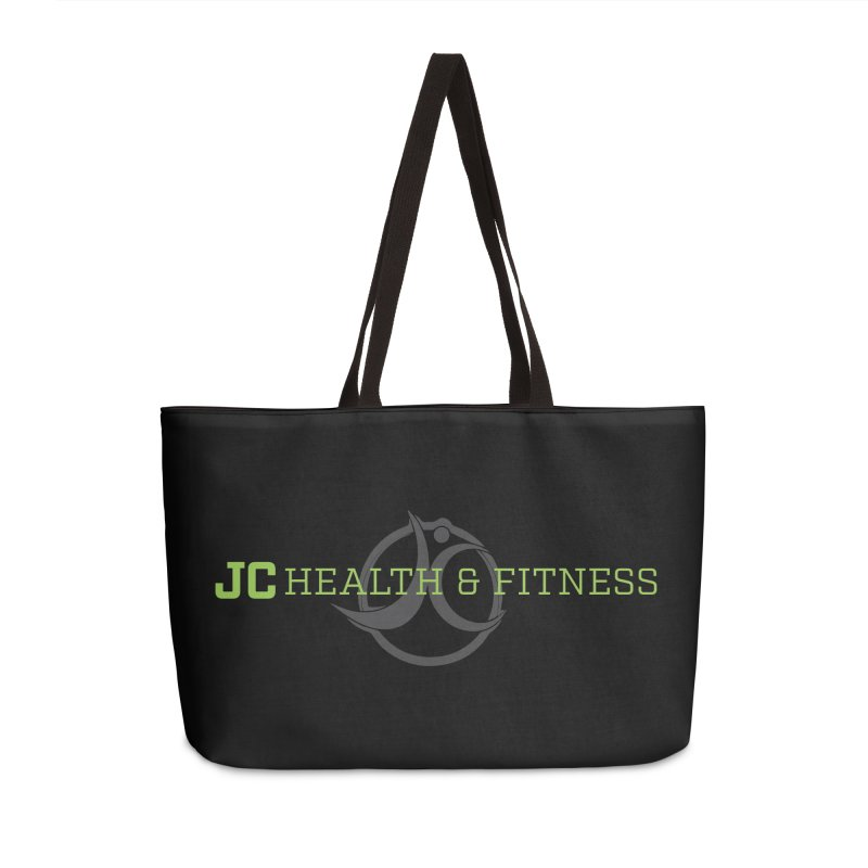 JC logo Accessories Weekender Bag Bag by JC Heath and Fitness