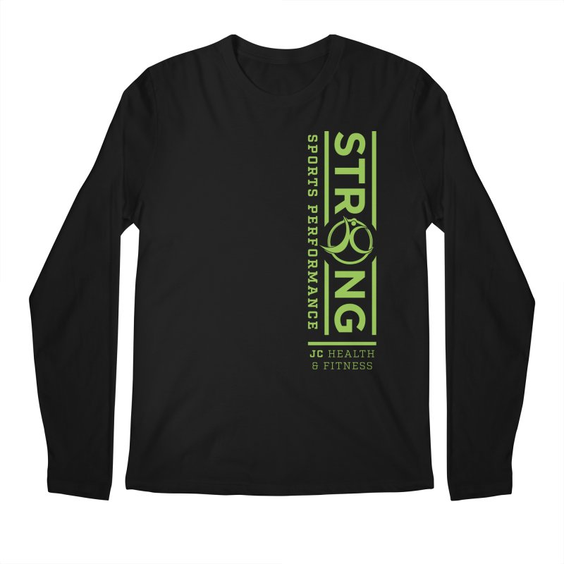 JC Strong Men's Longsleeve T-Shirt by JC Heath and Fitness