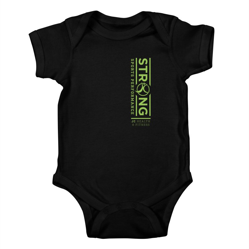 JC Strong Kids Baby Bodysuit by JC Heath and Fitness
