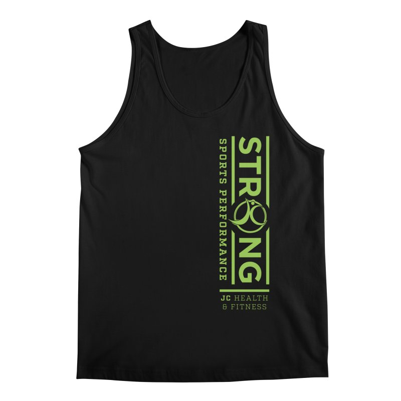 JC Strong Men's Regular Tank by JC Heath and Fitness