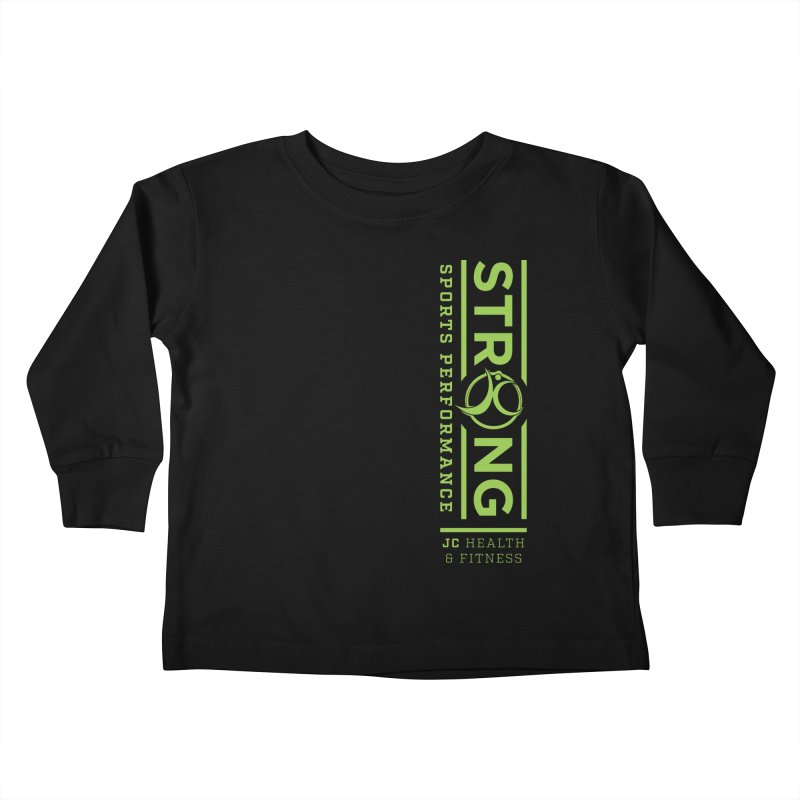 JC Strong Kids Toddler Longsleeve T-Shirt by JC Heath and Fitness