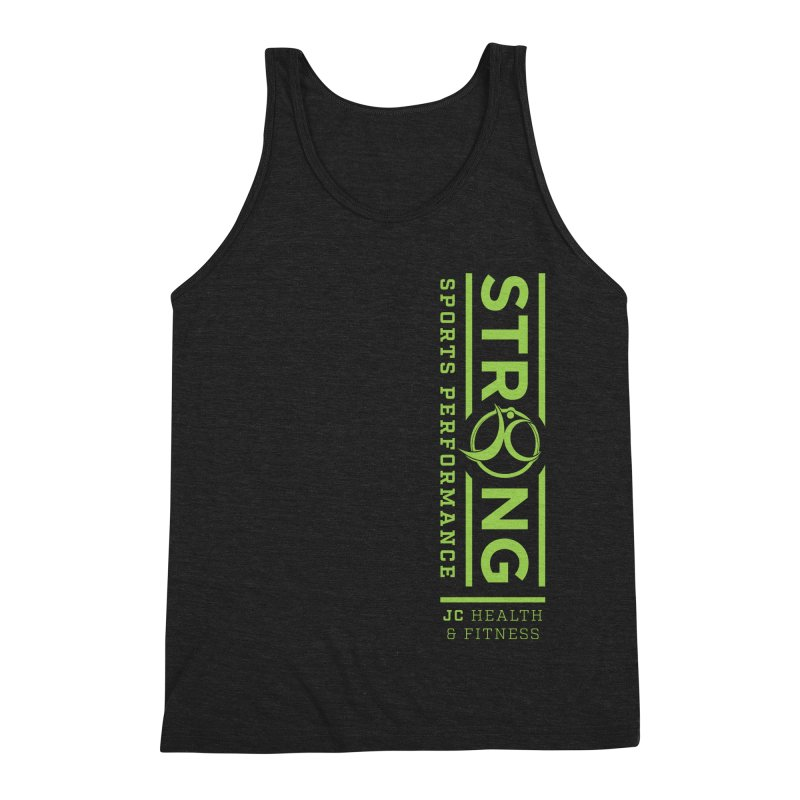 JC Strong Men's Triblend Tank by JC Heath and Fitness