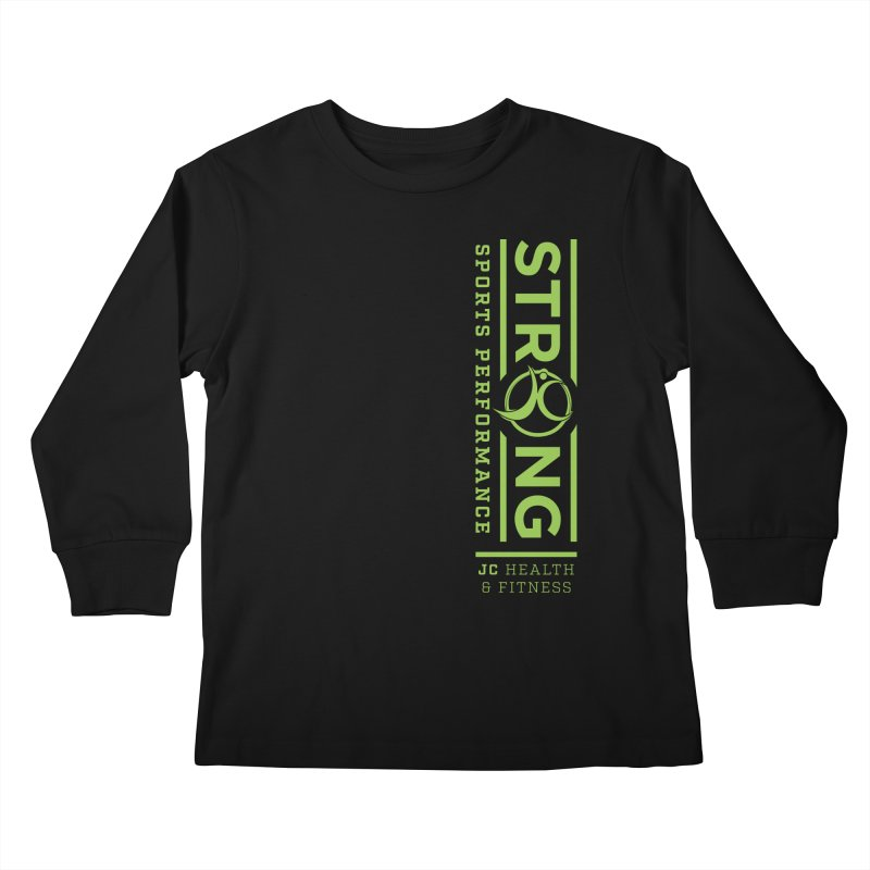 JC Strong Kids Longsleeve T-Shirt by JC Heath and Fitness