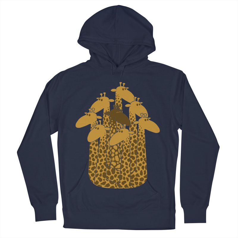 The black giraffe of the family. Men's Pullover Hoody by JCMaziu shop