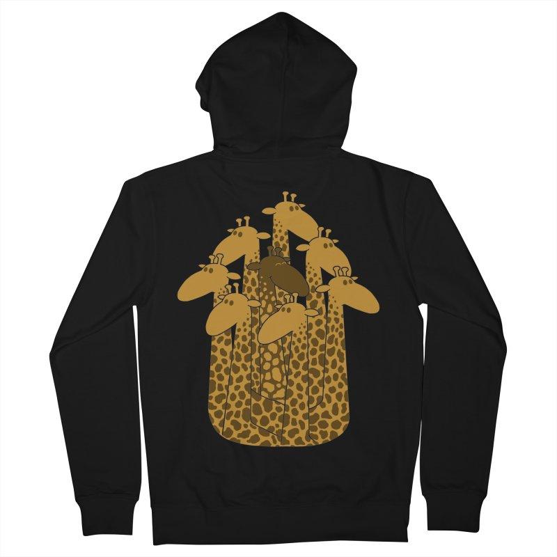 The black giraffe of the family. Women's Zip-Up Hoody by JCMaziu shop