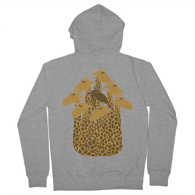 The black giraffe of the family. Men's Zip-Up Hoody by JCMaziu shop