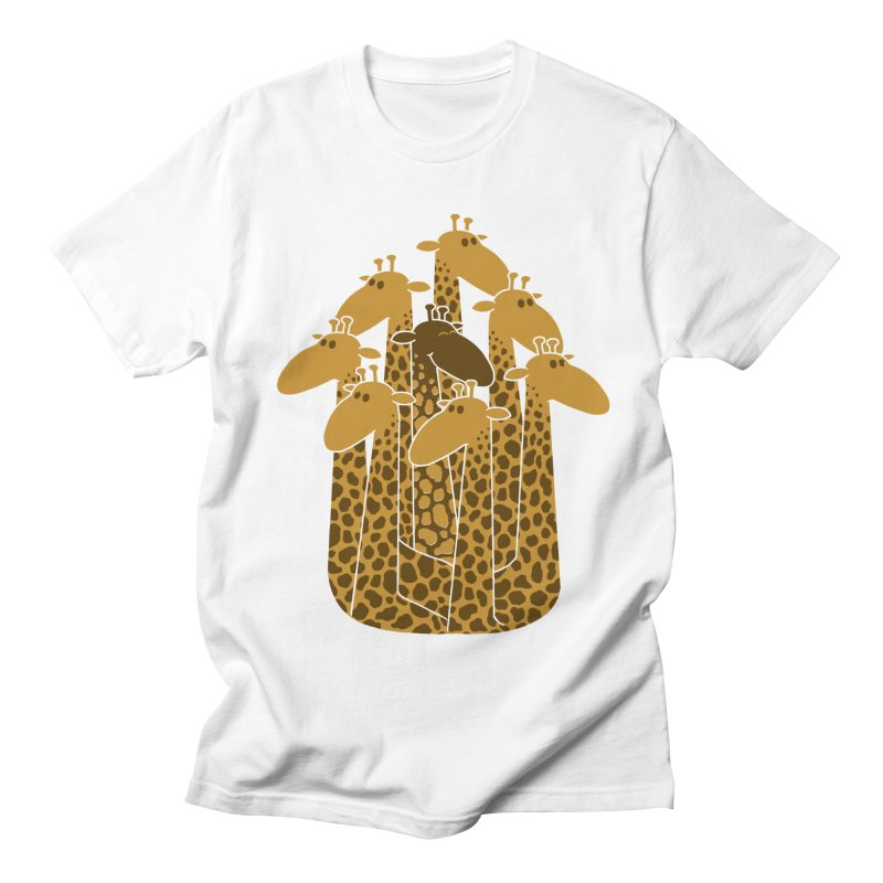 The black giraffe of the family. Men's T-Shirt by JCMaziu shop