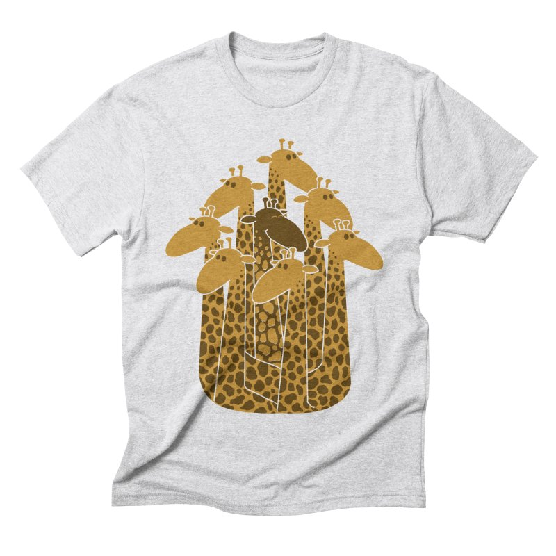 The black giraffe of the family. Men's Triblend T-Shirt by JCMaziu shop