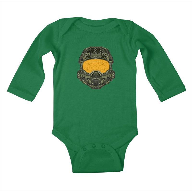 The Chief. Kids Baby Longsleeve Bodysuit by JCMaziu shop
