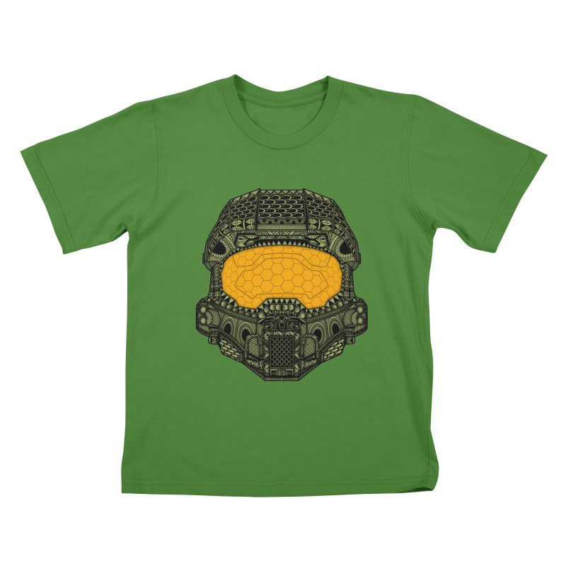 The Chief. Kids T-Shirt by JCMaziu shop