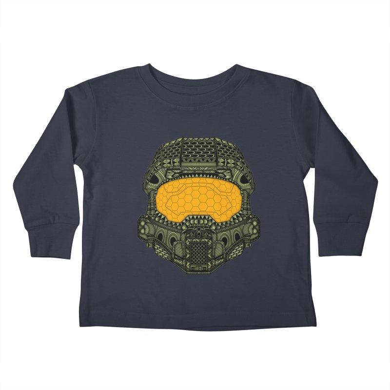 The Chief. Kids Toddler Longsleeve T-Shirt by JCMaziu shop