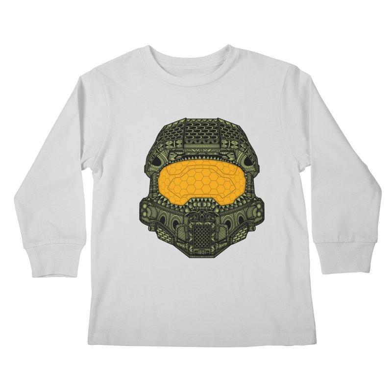 The Chief. Kids Longsleeve T-Shirt by JCMaziu shop