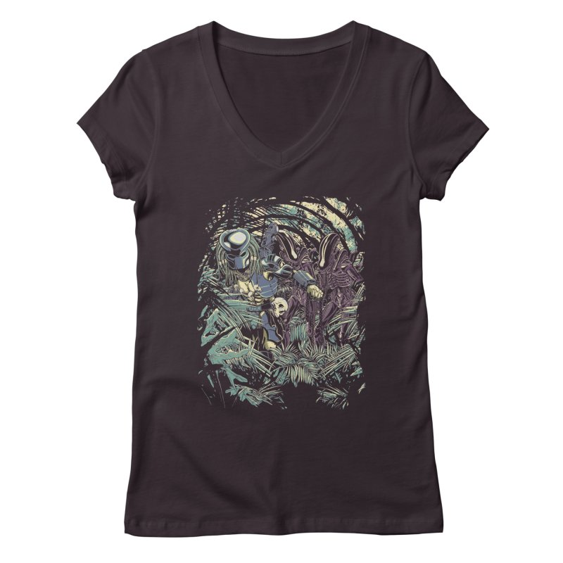 Welcome to the jungle. Women's V-Neck by JCMaziu shop