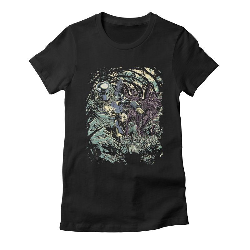 Welcome to the jungle. Women's Fitted T-Shirt by JCMaziu shop