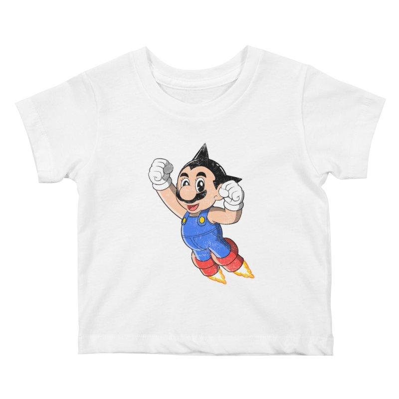 Astroplumber Kids Baby T-Shirt by JCMaziu shop
