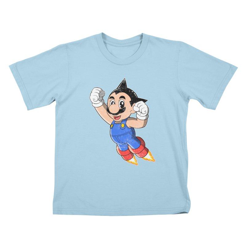 Astroplumber Kids T-Shirt by JCMaziu shop