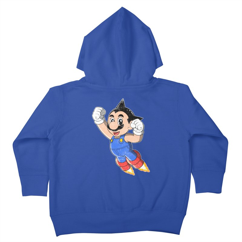 Astroplumber Kids Toddler Zip-Up Hoody by JCMaziu shop