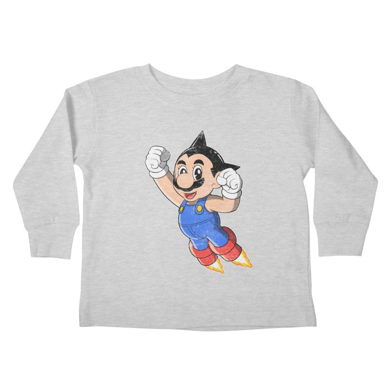 Astroplumber Kids Toddler Longsleeve T-Shirt by JCMaziu shop