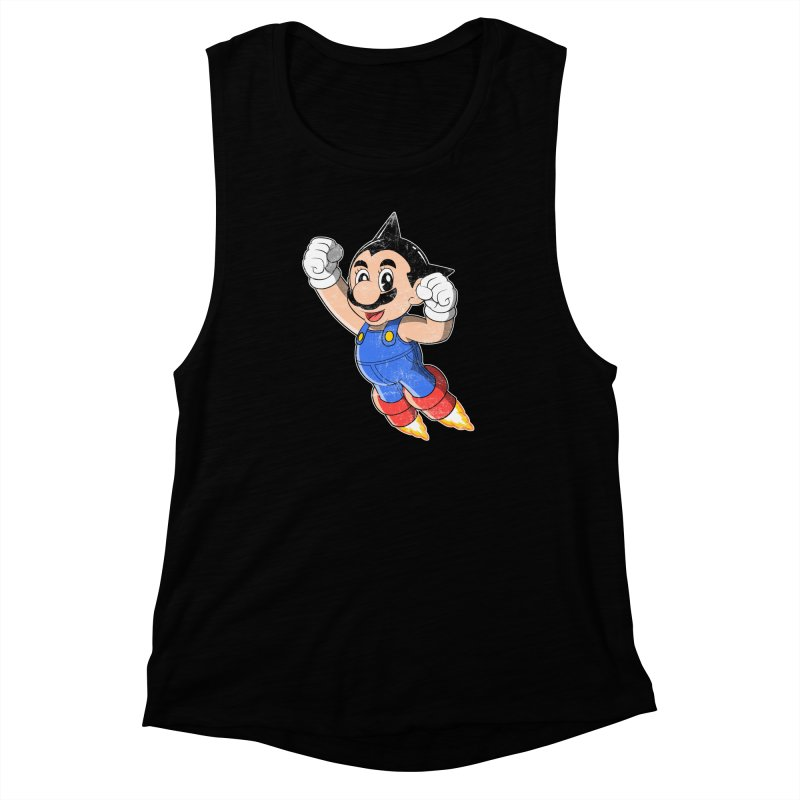 Astroplumber Women's Muscle Tank by JCMaziu shop