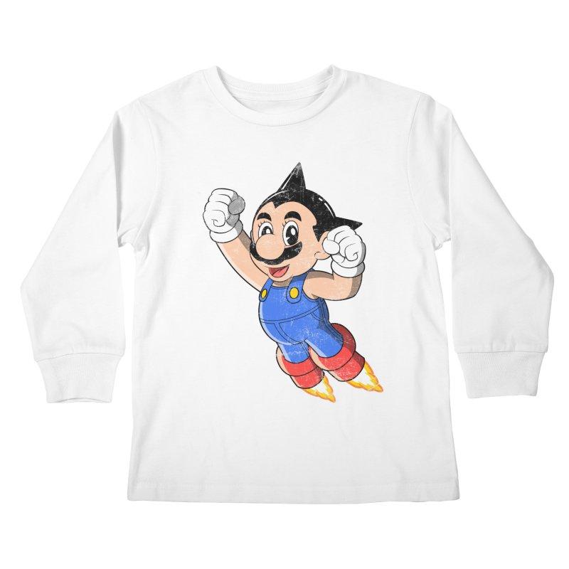 Astroplumber Kids Longsleeve T-Shirt by JCMaziu shop