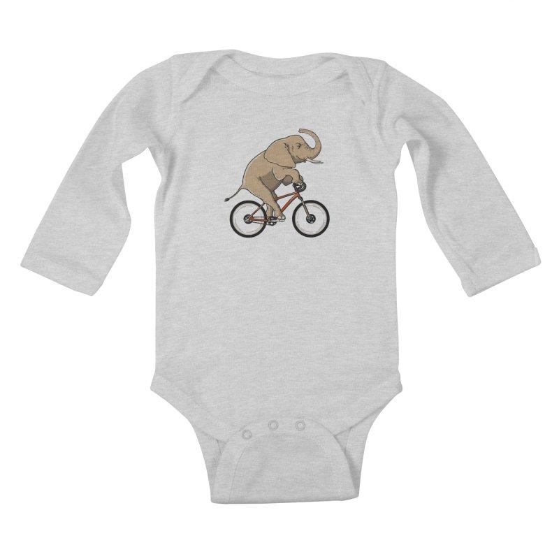 Supersized. Kids Baby Longsleeve Bodysuit by JCMaziu shop