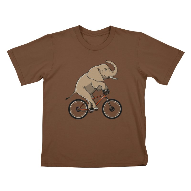 Supersized. Kids T-shirt by JCMaziu shop