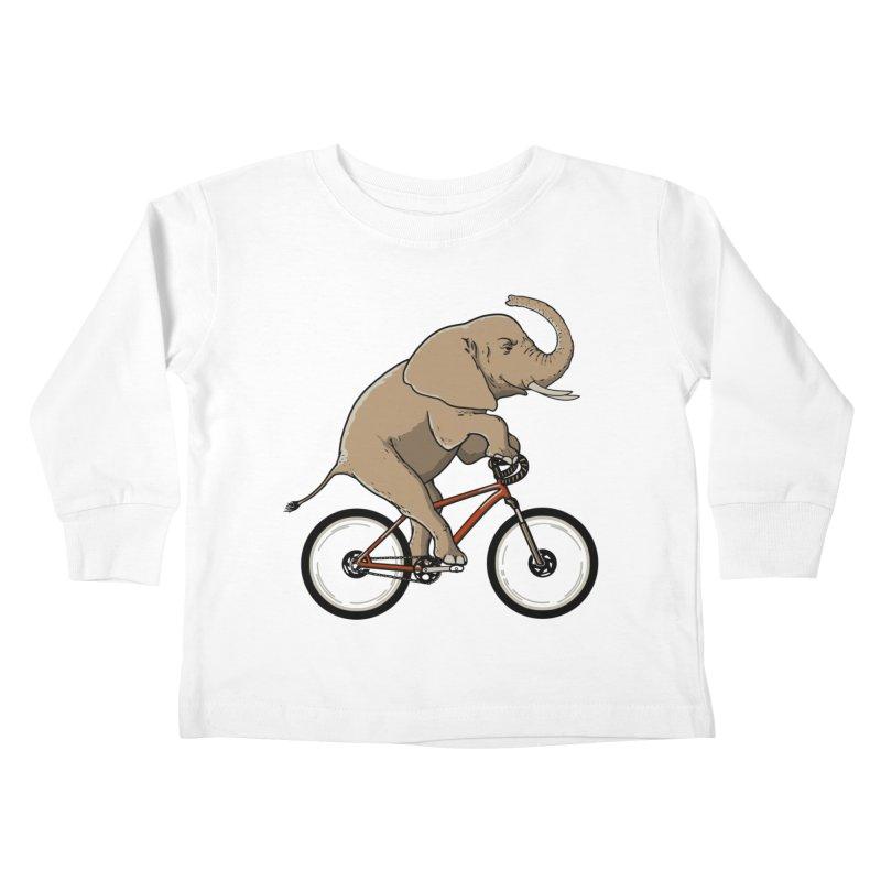 Supersized. Kids Toddler Longsleeve T-Shirt by JCMaziu shop