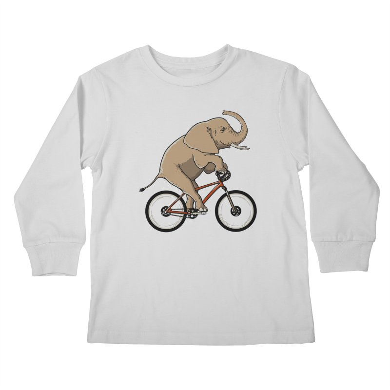 Supersized. Kids Longsleeve T-Shirt by JCMaziu shop