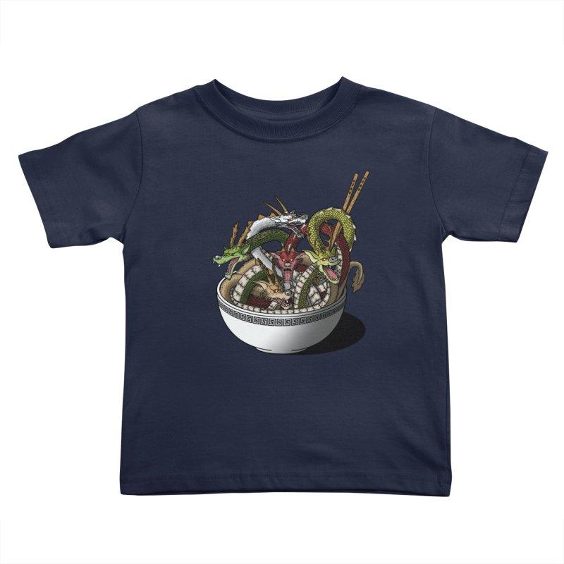 Dragon noodles. Kids Toddler T-Shirt by JCMaziu shop