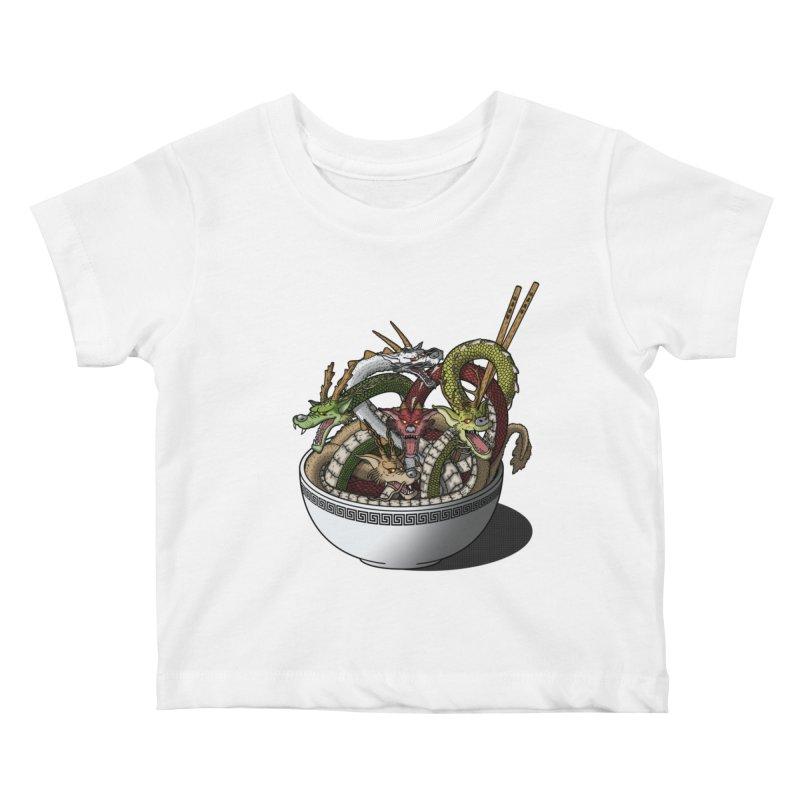 Dragon noodles. Kids Baby T-Shirt by JCMaziu shop