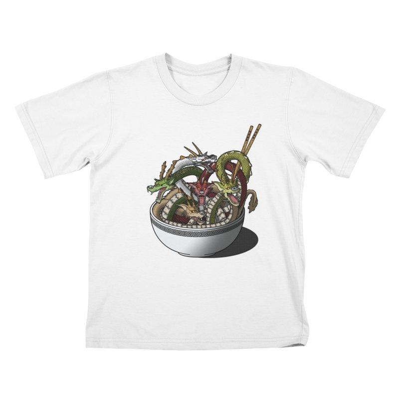 Dragon noodles. Kids T-shirt by JCMaziu shop