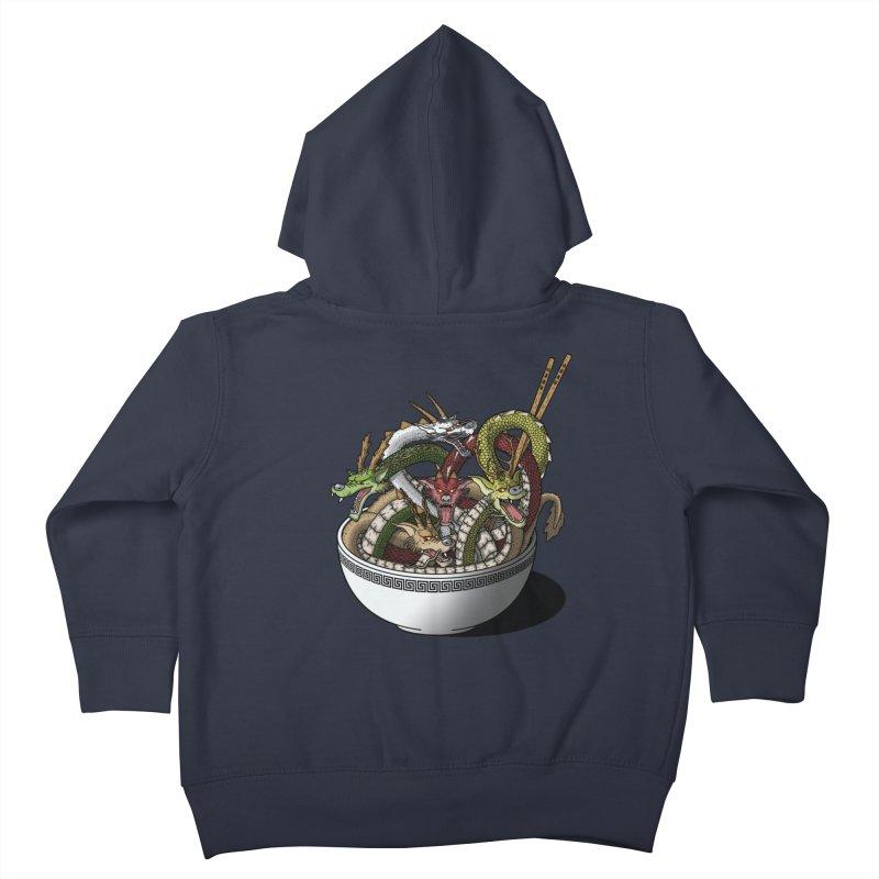 Dragon noodles. Kids Toddler Zip-Up Hoody by JCMaziu shop