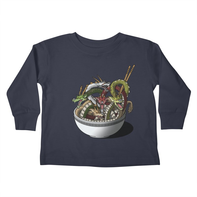 Dragon noodles. Kids Toddler Longsleeve T-Shirt by JCMaziu shop