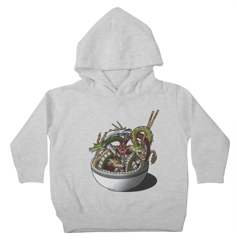 Dragon noodles. Kids Toddler Pullover Hoody by JCMaziu shop