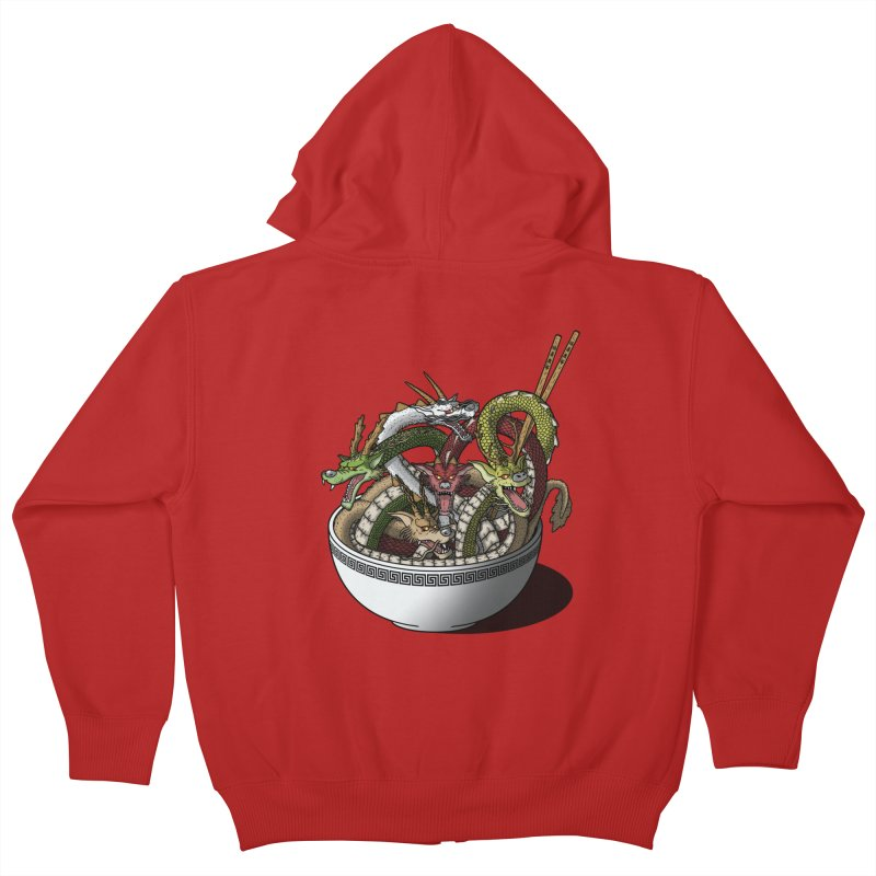 Dragon noodles. Kids Zip-Up Hoody by JCMaziu shop