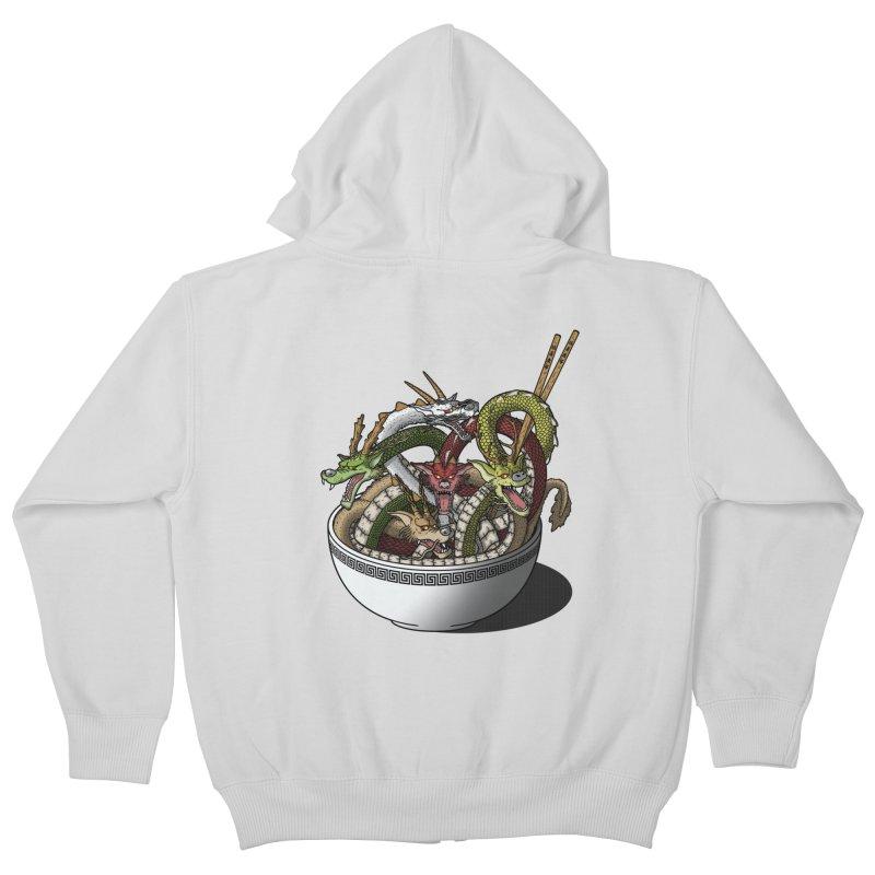 Dragon noodles. Kids Zip-Up Hoody by JCMaziu shop