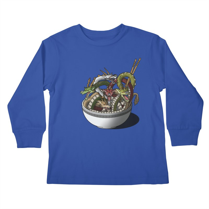 Dragon noodles. Kids Longsleeve T-Shirt by JCMaziu shop