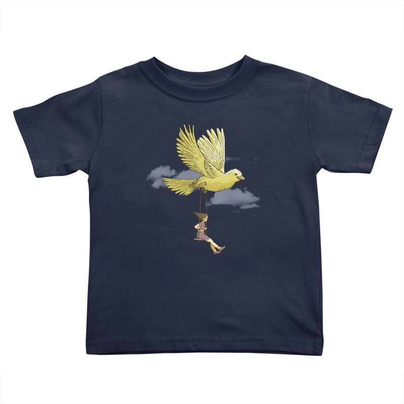 Higher, up to the sky! Kids Toddler T-Shirt by JCMaziu shop