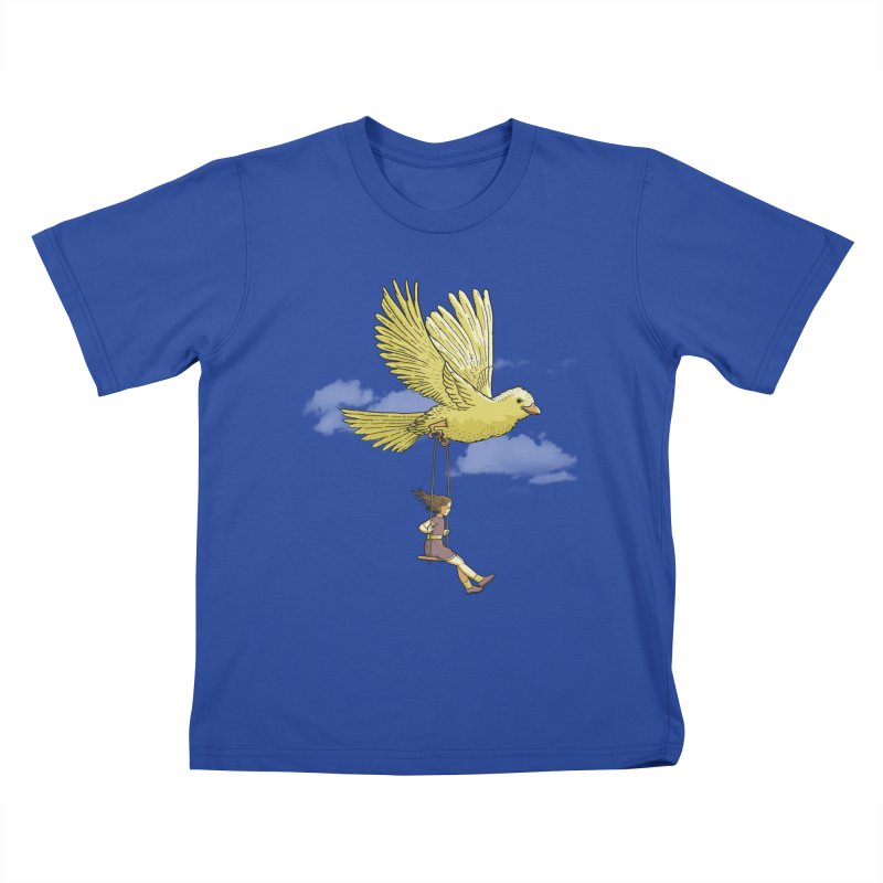 Higher, up to the sky! Kids T-shirt by JCMaziu shop