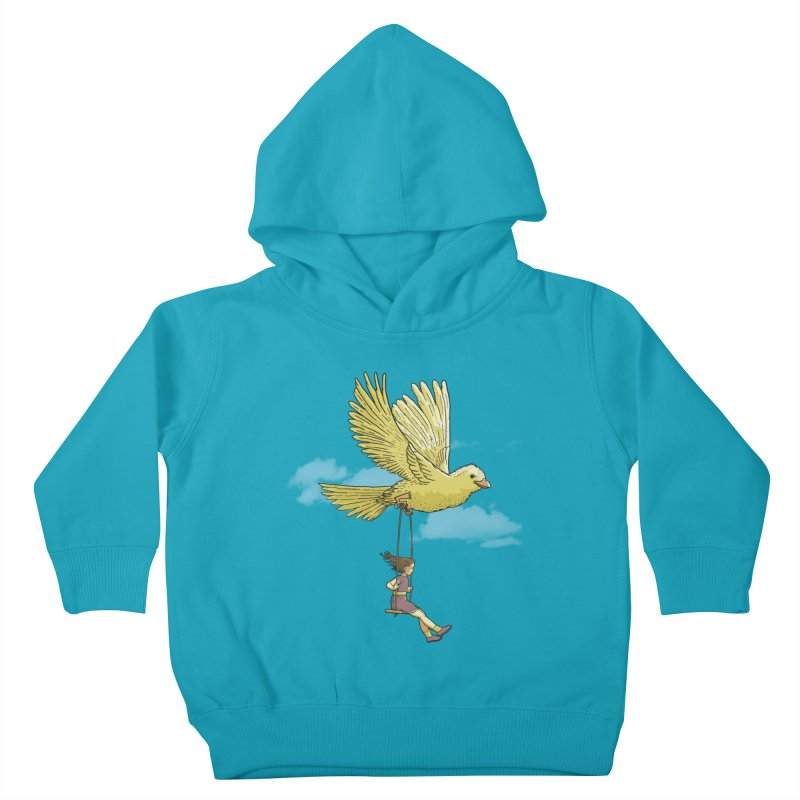 Higher, up to the sky! Kids Toddler Pullover Hoody by JCMaziu shop