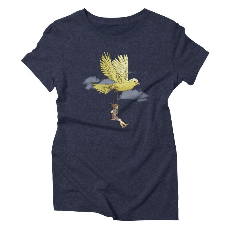 Higher, up to the sky! Women's Triblend T-shirt by JCMaziu shop