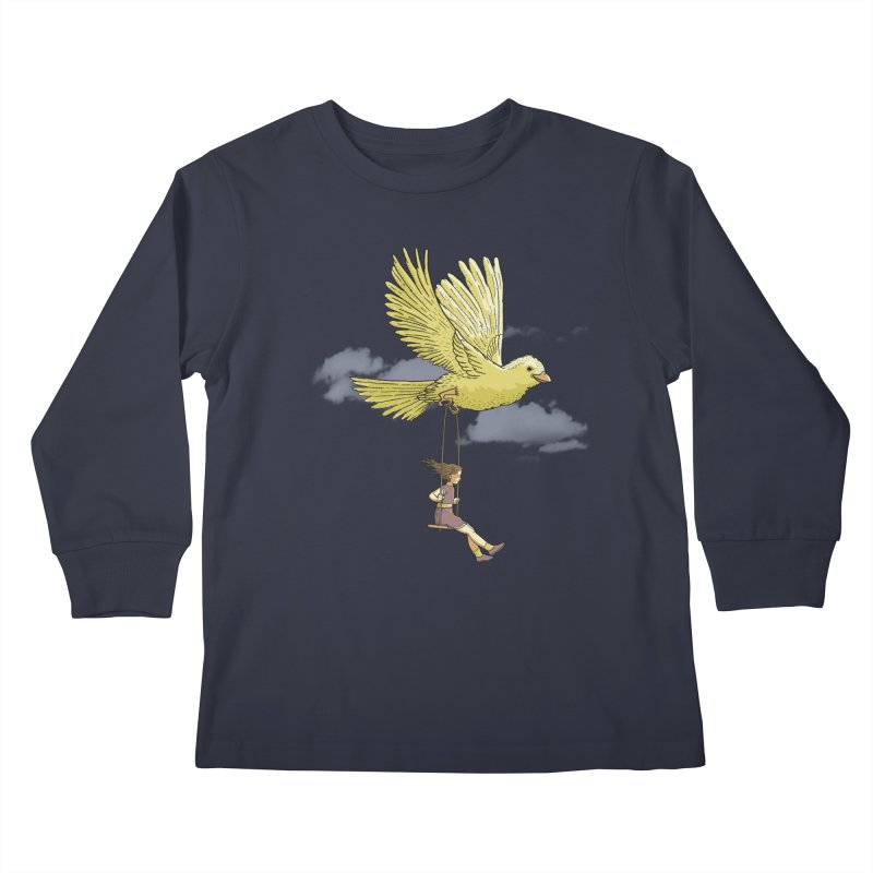 Higher, up to the sky! Kids Longsleeve T-Shirt by JCMaziu shop