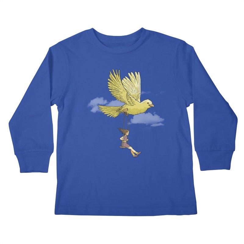 Higher, up to the sky! Kids Longsleeve T-Shirt by JCMaziu shop