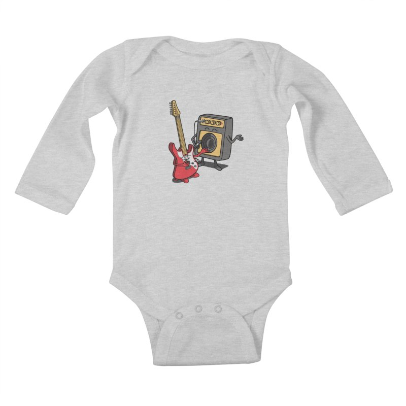 Rock stars. Kids Baby Longsleeve Bodysuit by JCMaziu shop