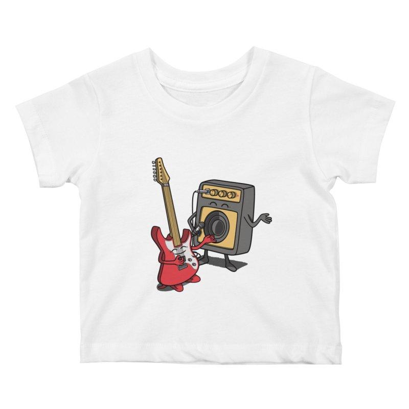 Rock stars. Kids Baby T-Shirt by JCMaziu shop