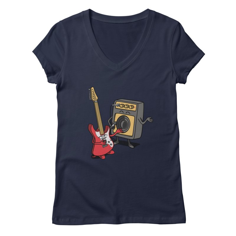 Rock stars. Women's V-Neck by JCMaziu shop