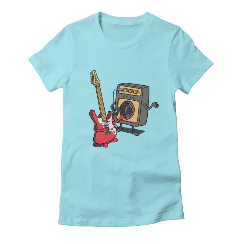 Rock stars. Women's Fitted T-Shirt by JCMaziu shop