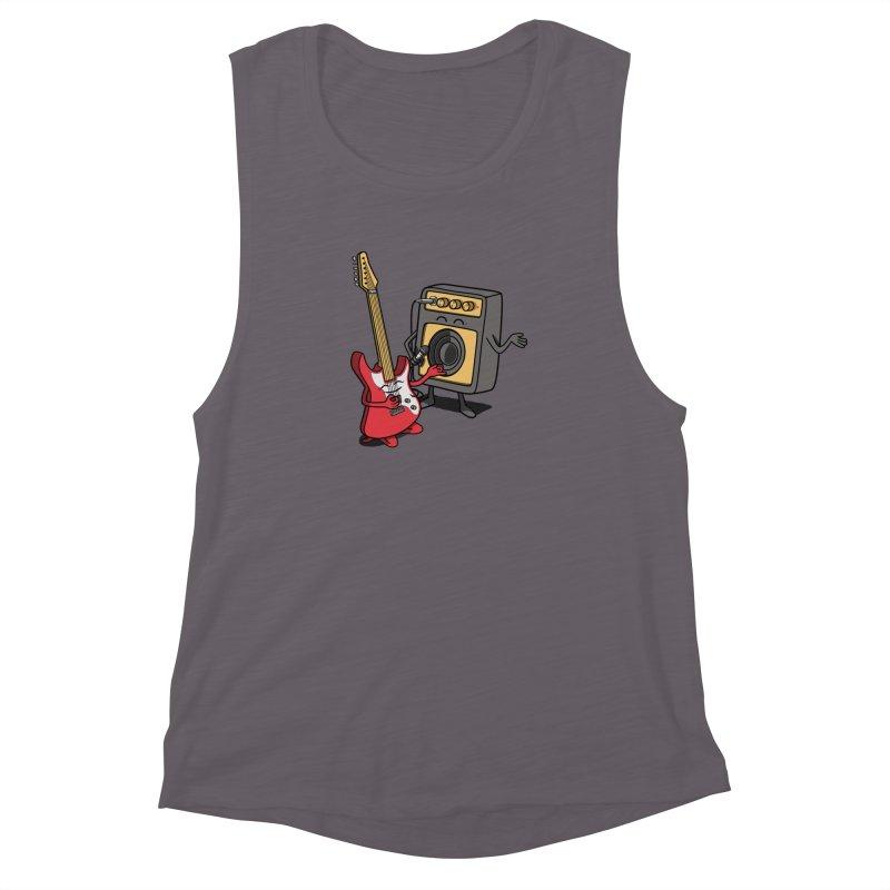 Rock stars. Women's Muscle Tank by JCMaziu shop